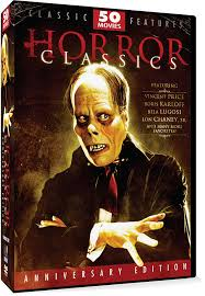 amazon com horror classics 50 movie pack anniversary edition