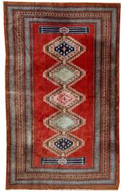 bukhara tappeto tappeto bukhara vintage fatto a mano uzbekistan anni 60 in