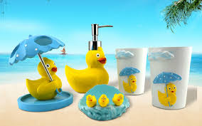 duck decorations duck bathroom decor sets office and bedroom