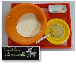 tamiser cuisine lacatalane à la maternelle atelier autonome tamiser de la