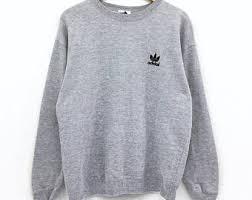 adidas sweater adidas sweatshirt etsy