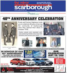 the scarborough mirror east october 20 2016 by the scarborough