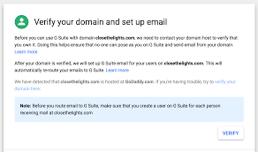 Godaddy Com Business Email by Email Migration Moving To G Suite With Name Servers Pointed To