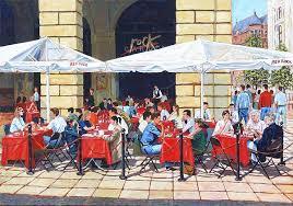 The Rock Garden Covent Garden Izak Geldenhuys Artist And Painter