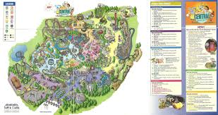 Six Flags America Map by Great America California Map California Map