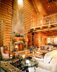 cabin style homes living room jpg