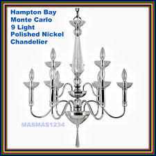 Hampton Bay 9 Light Chandelier Hampton Bay 9 Light Chandelier Ebay