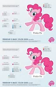 Best Color Hex Codes by Pinkie Pie Color Guide 2 0 Updated By Kefkafloyd On Deviantart