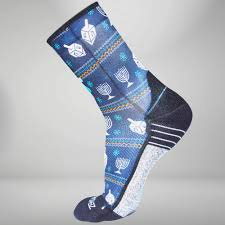 chanukah socks chanukah running socks funky sweater hanukkah zensah