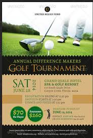 free golf tournament flyer template golf tournament tri fold