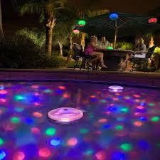 battery operated floating pool lights 2017 new arrival battery powered led waterproof underwater light