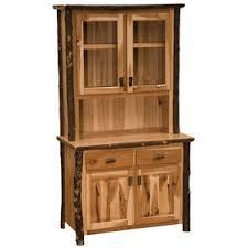 Black Hutch Buffet With Wood Top Rustic Sideboards U0026 Buffets You U0027ll Love Wayfair
