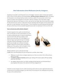 melbourne jewellery designers brief information about melbourne jewelry designers 1 638 jpg cb 1393977785