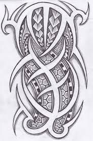 polynesian tribal design polynesian and tribal tattoos design