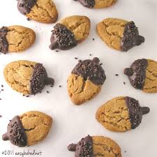easy thanksgiving cookies peanut butter and chocolate cookies easybaked