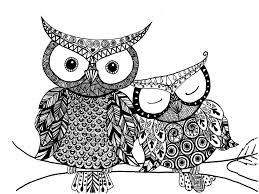 owl mandala coloring page glum me