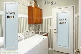 etched glass door laundry room door etched glass house design and planning