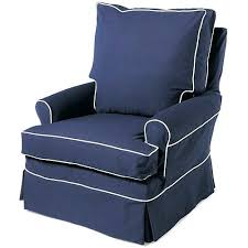 navy blue glider and ottoman navy blue glider and lily navy twill glider nursery necessities in