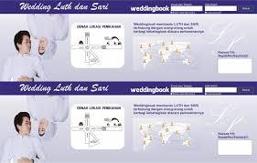 template undangan format cdr weddingbook undangan perkawinan dengan bentuk facebook format cdr