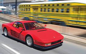 testarossa maintenance 1984 1991 testarossa collectible car vintage