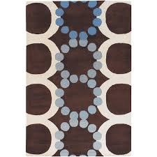 Brown And White Area Rug Chandra Berlow Blue Grey 7 Ft 9 In X 10 Ft 6 In Indoor Area