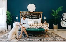 bohemian bedroom decorist designs a bohemian bedroom for alexandra evjen rue