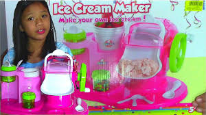 young chef ice cream maker make your own ice cream youtube