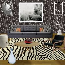 Safari Decorating Ideas For Living Room Urban Safari Modern Living Room Relish Interiors