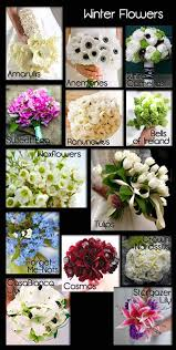 wedding flowers list winter flowers for weddings in season best 25 winter wedding