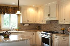 Kitchen Cabinet Inside Designs Contemporary French Country Kitchen Cabinets Uses Glass Front