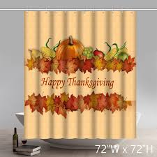 liberty happy thanksgiving bathroom shower curtains