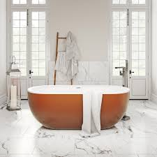 mode ellis cinnamon coloured freestanding bath victoriaplum com