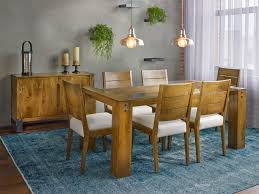 canadel loft custom dining customizable glass top dining table