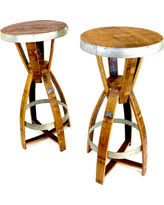 Wine Barrel Bar Table Holiday Savings On Wine Enthusiast Barrel Cork Catcher Accent Table
