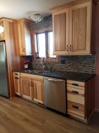 what paint color goes best with hickory cabinets kitchen paint colors with hickory cabinets page 1 line