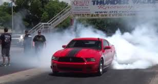 Mustang Boss Horsepower Who Needs Electric Awd 1 500 Hp Turbo Mustang Goes 8s Like A Boss