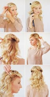 hair tutorial loose halo hair tutorial wedding inspiration 100 layer cake
