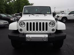 white jeep sahara 2 door jeep wrangler sahara in pennsylvania for sale used cars on