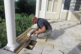 stone paver deck professional deck builder finishes and