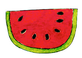 bite from watermelon slice coloring pages coloring pages 233781