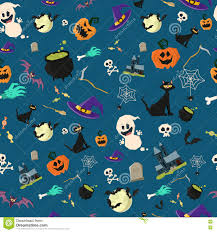 halloween bat repeating background halloween party seamless pattern design stock vector image