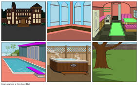 my semi dream house storyboard by smartest141