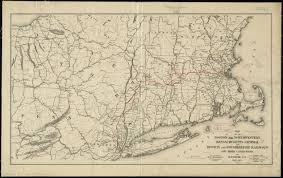 Map Of Boston Ma Map Of The Boston And Northwestern Massachusetts Central And