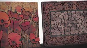 Wrought Iron Rubber Doormat Recycled Rubber Doormats By Mohawk Home Youtube