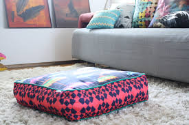 Floor Pillows Ikea Adorn Interior with Exotic Asian Style