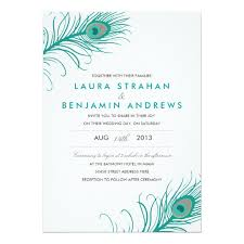 peacock wedding invitations peacock wedding invitation zazzle