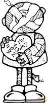 mummy coloring free printable coloring pages