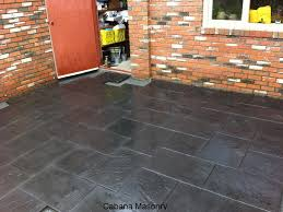 Painting Patio Pavers Can I Paint Patio Slabs Deck Ideas Pinterest Patio Slabs And