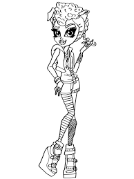 howleen wolf coloring pages free printable howleen wolf coloring