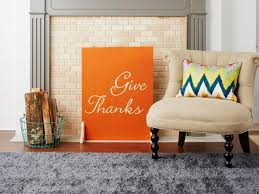 how to make a personalized fire screen hgtv
